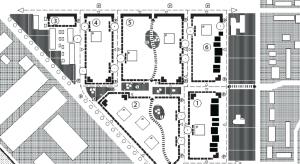 Strategische plankaart Nieuwe Dorp Heijplaat (Rotterdam)